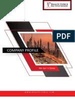 Real Estate Agent Company Profile