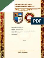 1.0 Informe Nº01