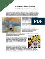 3.4 Expresion Artistica y Reflejo Del Alma