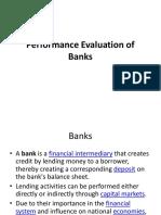 EPM-3.1 Performance Evaluation of Banks