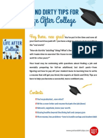 Quick and Dirty Tips for Life After College (7)