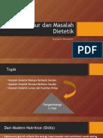 Gizi Daur dan Masalah Dietetik_dr.Budi.ppt
