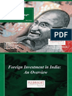 Foreign Investment in India an Overview 3466