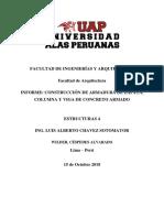 informe estructuras 4 UAP