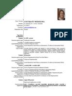 CV Cocosatu Madalina Alegeri 2019