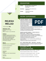 Resume Updated Rejesh Melad(1)