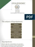 HYPOLIPIDEMIA