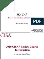 CISA 2010 Overview