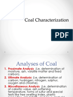 Coal Characterization (Practical)D-3173