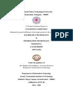 Cognitive computing - seminar report-1.docx