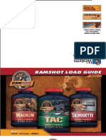 Ramshot 4.4 Load Guide - Hand Loading Guide for Ramshot brand powders.