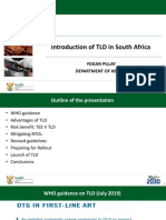 Introduction of TLD in South Africa Yogan Pillay