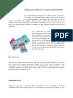 Mini Menu Printing Requires Effective Designs to Drive Profits