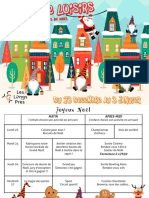 Programme Noel Site
