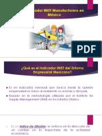 Indicador IMEF Manufacturero Expo