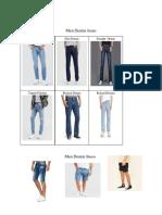 "Dickies 11/"" Regular Fit 6-Pocket Denim Shorts STONEWASHED INDIGO BLUE 34293SNB"