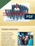 Rencana Asuhan Keperawatan Komunitas Fokus Pada Promotif.pptx