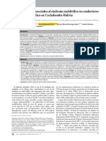 Factores de Riesgo Asociados Al Síndrome Metabólico en Conductores Del Transporte Público en Cochabamba-Bolivia