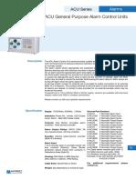 G ACU Series Sales Leaflet Issue 2