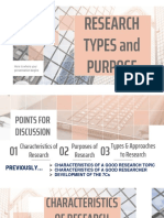 LESSON 3 Types and Purpose of Research