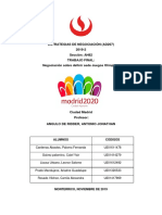 Debate de juegos olímpicos 2019 2 Estrategias de negociación