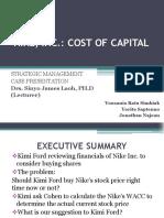 Nike, Inc Cost of Capital Fix 1