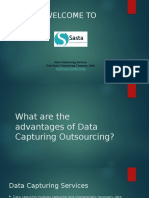 What are the advantages of Data Capturing Outsourcing ?