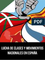 lucha de clases y nacionalidades en españa