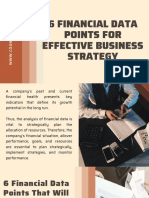 6 Financial Data Points for Effective Business Strategy