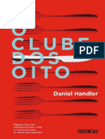 O Clube dos Oito - Daniel Handler