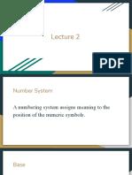 CSE101 - Lecture 2