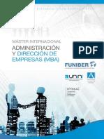 Adinstracion y Direccion de Empresas (MBA)