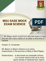 Science Mock Sase