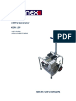 GEN 10P Operators Manual Non E Start REV0216