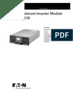 INV 4835E Datasheet