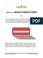 Cheapofareus-Tips to Book Cheap Flight