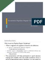 In-service Pipeline Repair Guidelines