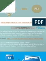 Merge Outlook PST