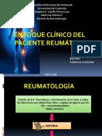 Generalidades de Reumatología