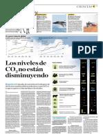 Los Niveles de CO2 No Está Disminuyendo
