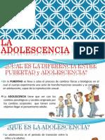Expo de Adolecencia y Pubertad