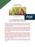 Vidente Gustavo Argentina  2019