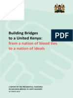 The Building Bridges Initiative Report