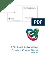 Audit Automation-course Notes#
