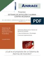 Sistemas de Detección y Alarma Contra Incendios AMRACI
