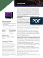 hoja de datos wd linea purpura