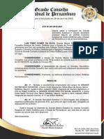 Ato Nº001 2019-2021 Nomeação GSEs