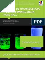 Detector de Fluorescencia y Quimioluminiscencia Para Hplc