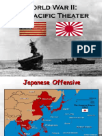 World War II Pacific Theater PowerPoint