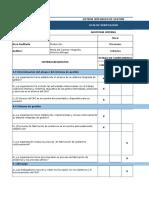 CHECK LIST y Resumen de Hallazgos Administracion 12.10.19
